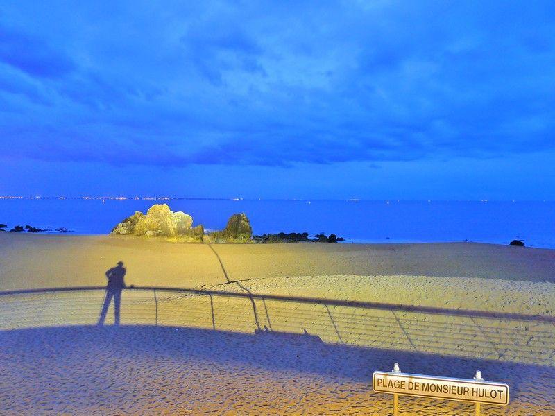 Sentier côtier de Saint Nazaire - Plage de Monsieur Hulot.