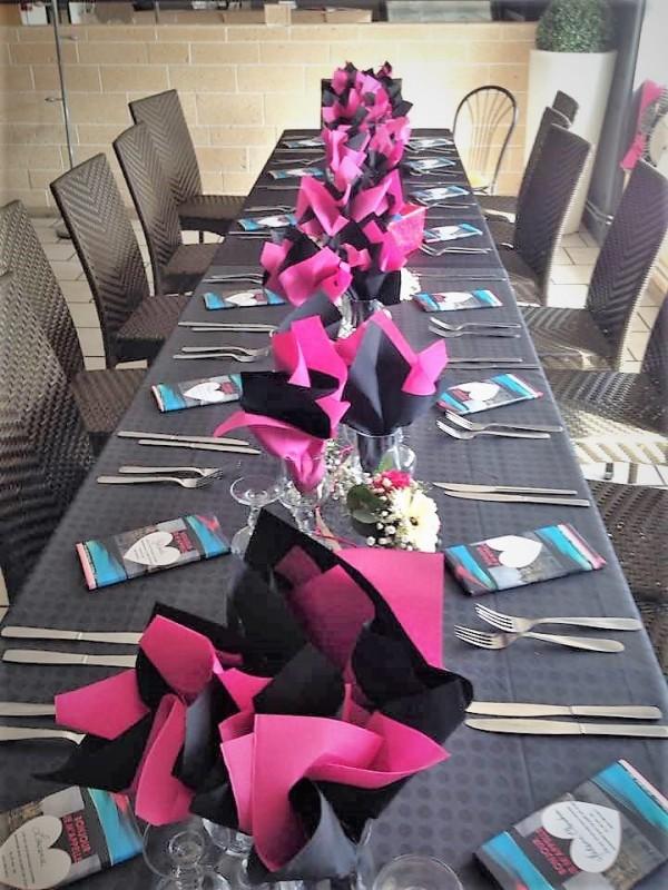 table festive la brasserie du cottage 1784164