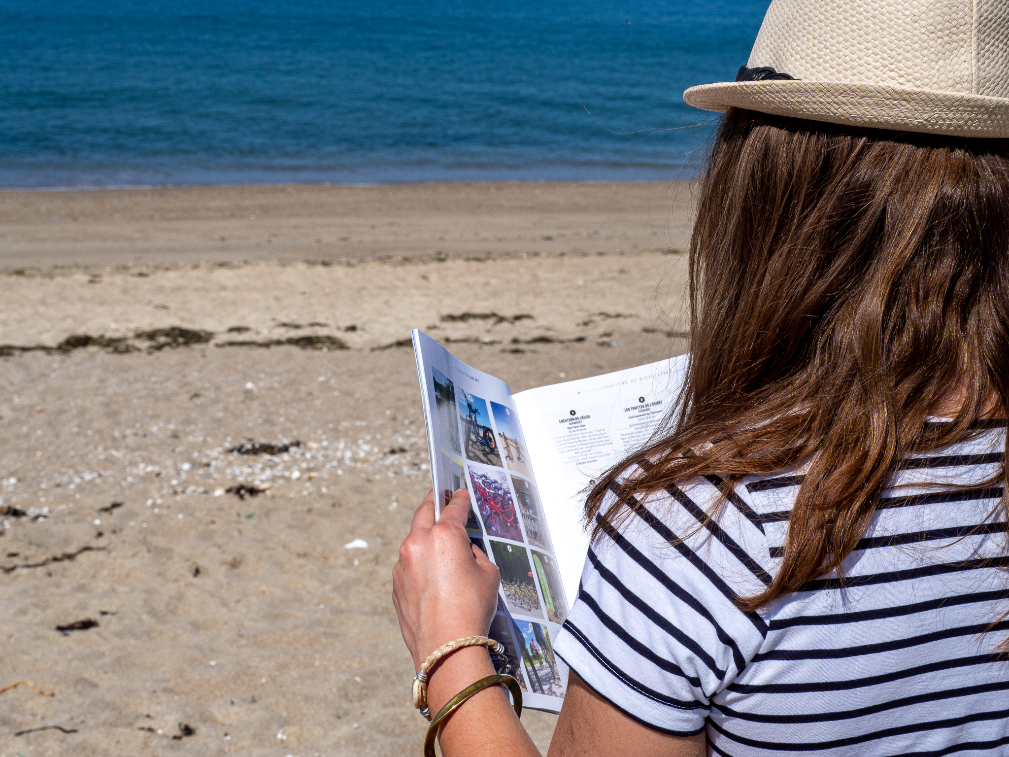 Brochures de l'Office de Tourisme La Baule-Presqu'île de Guérande - © OTI LBPG