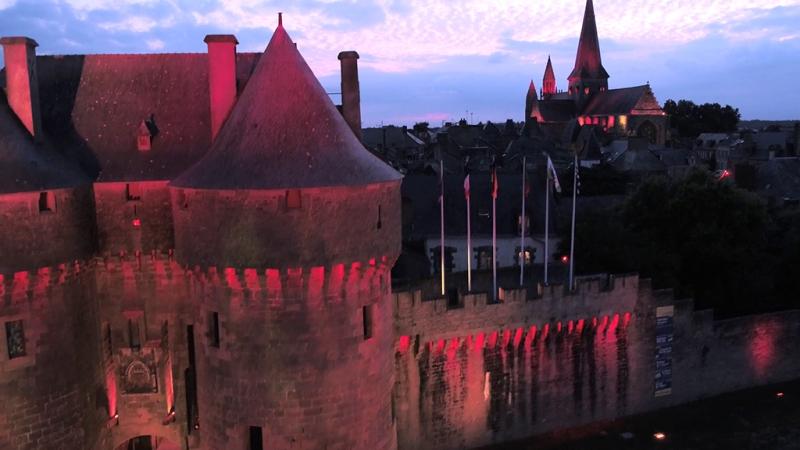 Guérande by light - Mairie de Guérande