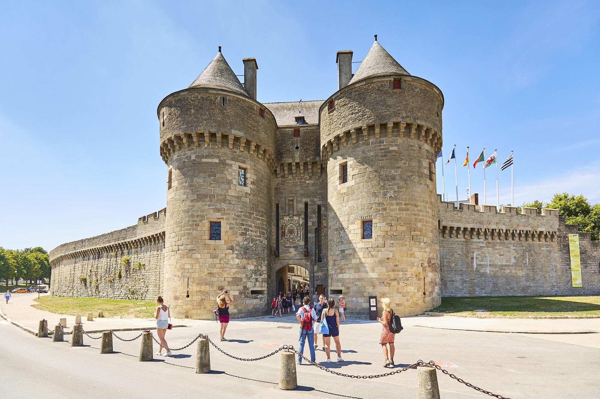 Cité médiévale de Guérande - Porte Saint-Michel - Alexandre Lamoureux - © Alexandre Lamoureux