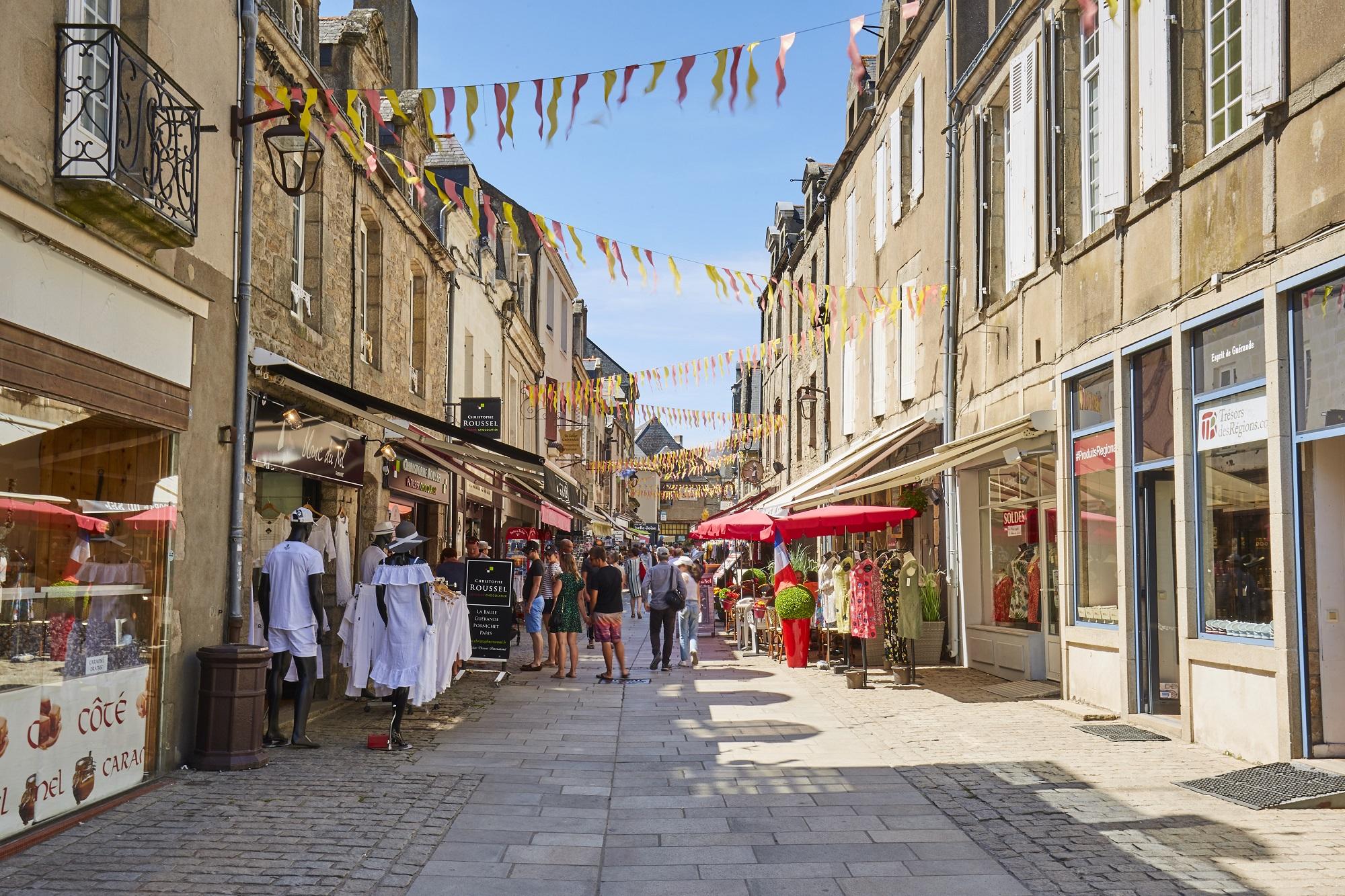 Cité médiévale de Guérande - Rue Saint-Michel - Alexandre Lamoureux  - © Alexandre Lamoureux