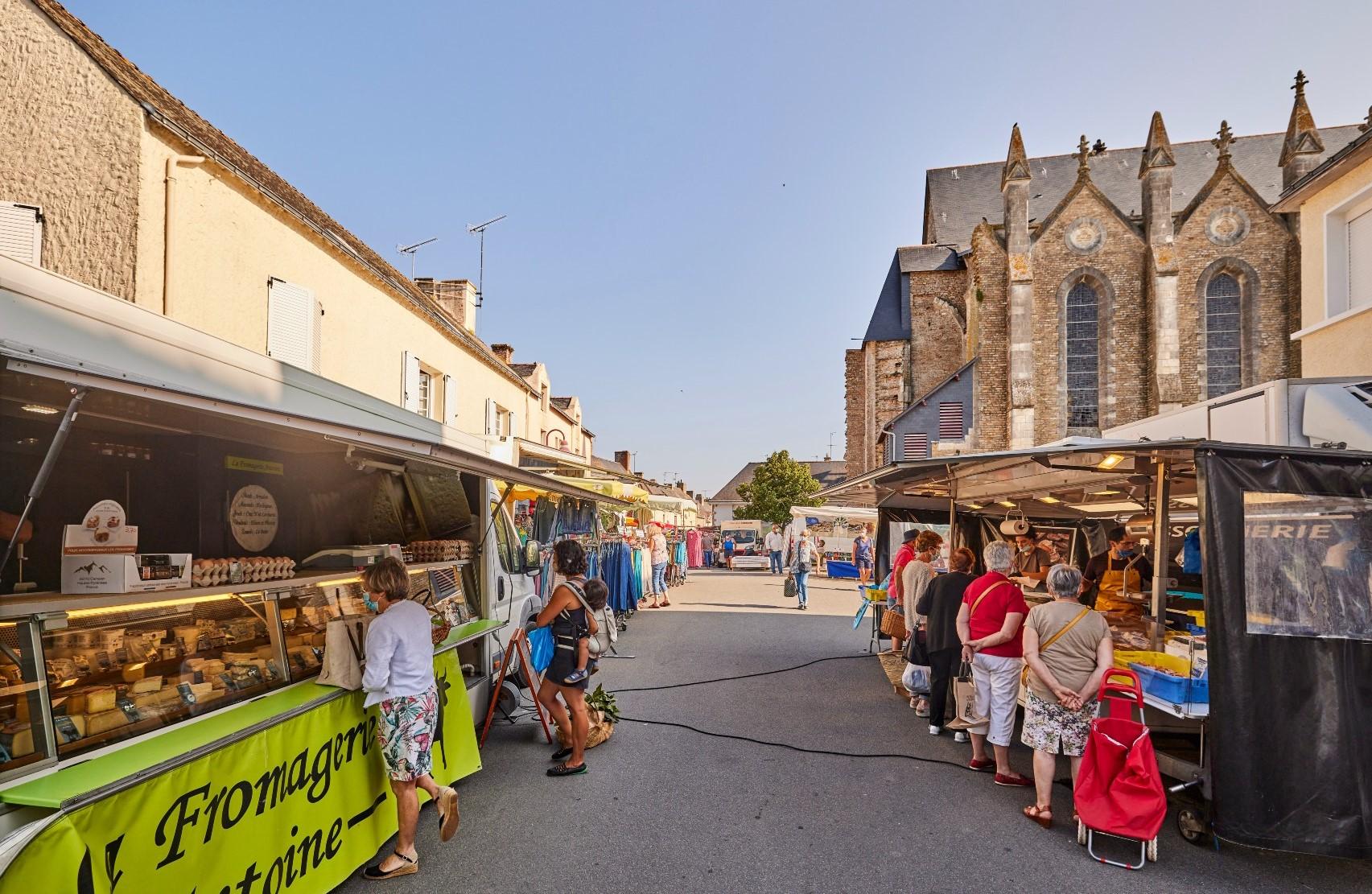 Herbignac market - © Alexandre Lamoureux