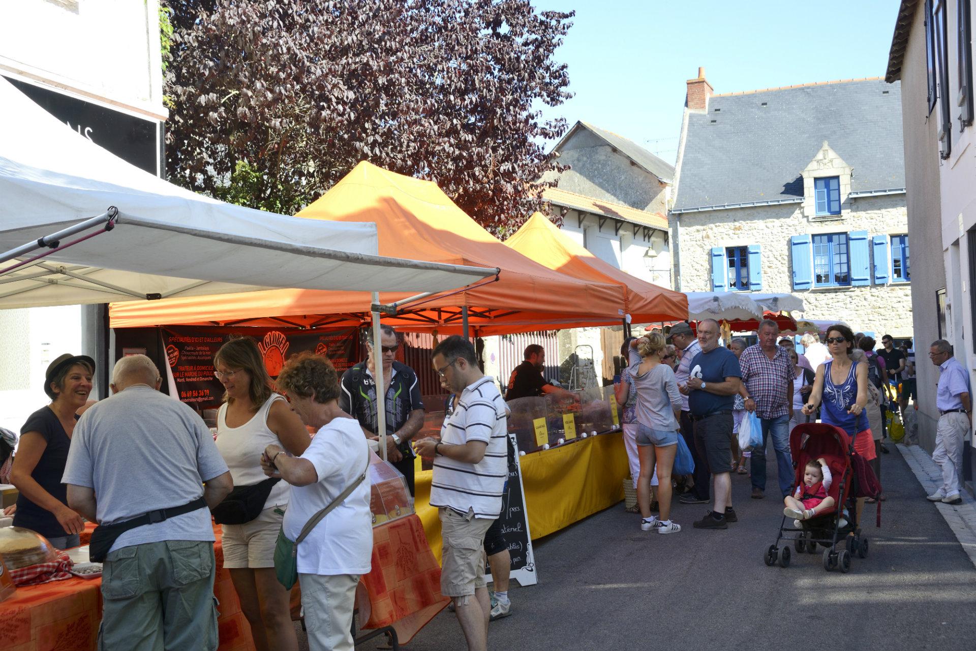 Marché du Pouliguen - Patrick Gérard