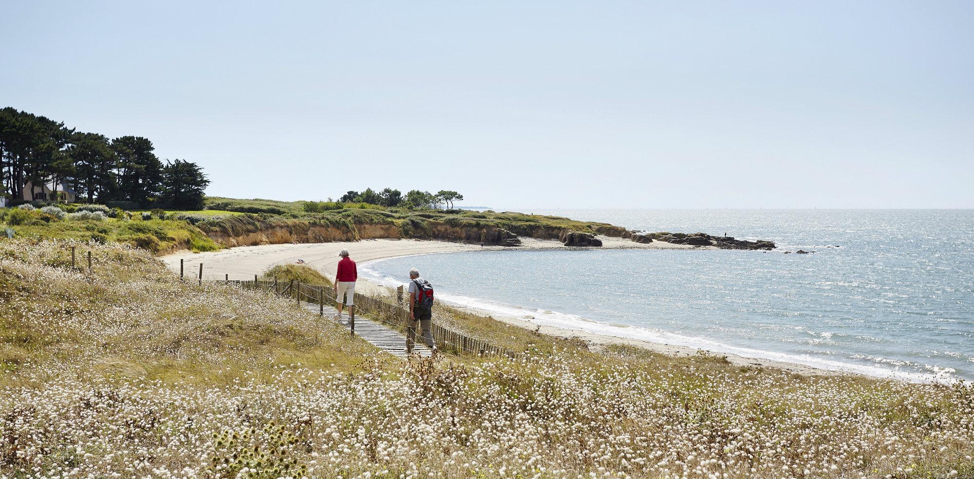 Le sentier côtier à Pénestin