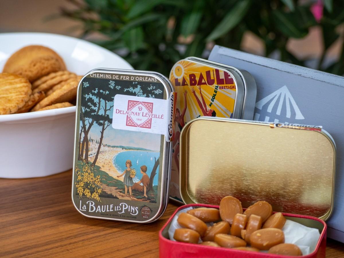 Boite caramels au beurre salé 45g - La Baule