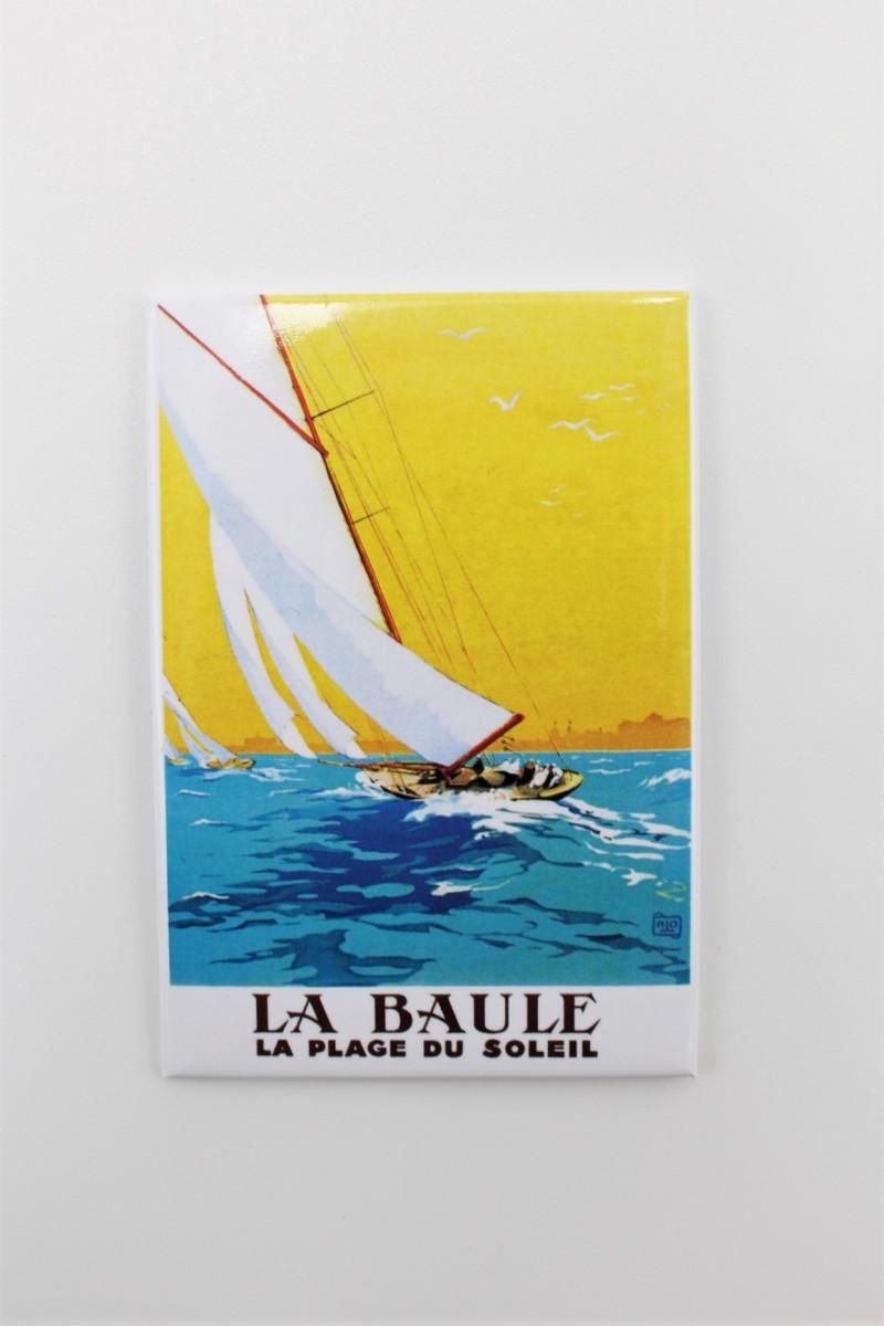 Boutique en lgne - Magnet édition Clouet - voilier - La Baule - Office de tourisme La Baule Presqu'île de Guérande