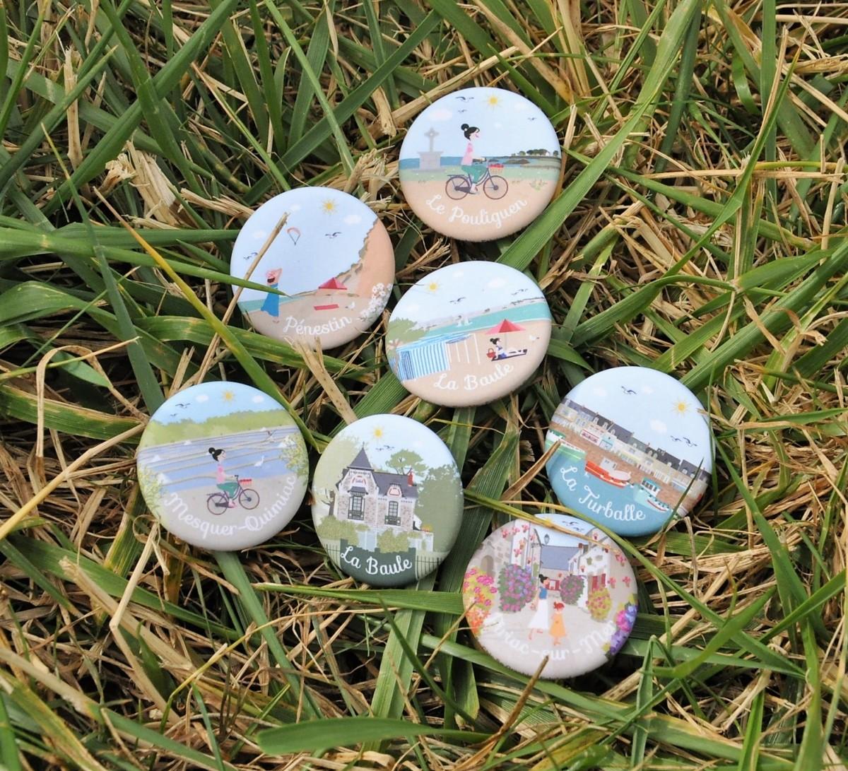 Boutique en ligne - Badges La Baule Presqu'île de Guérande - Office de tourisme La Baule Presqu'île de Guérande