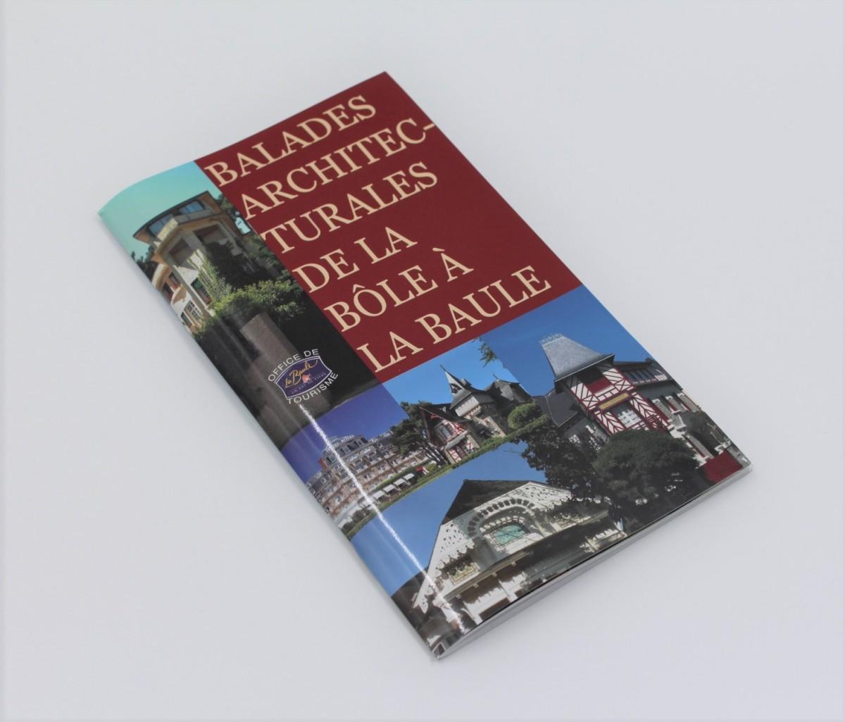 Boutique en ligne - Balades Architecturales de la Bôle à La Baule - Office de tourisme La Baule Presqu'île de Guérande