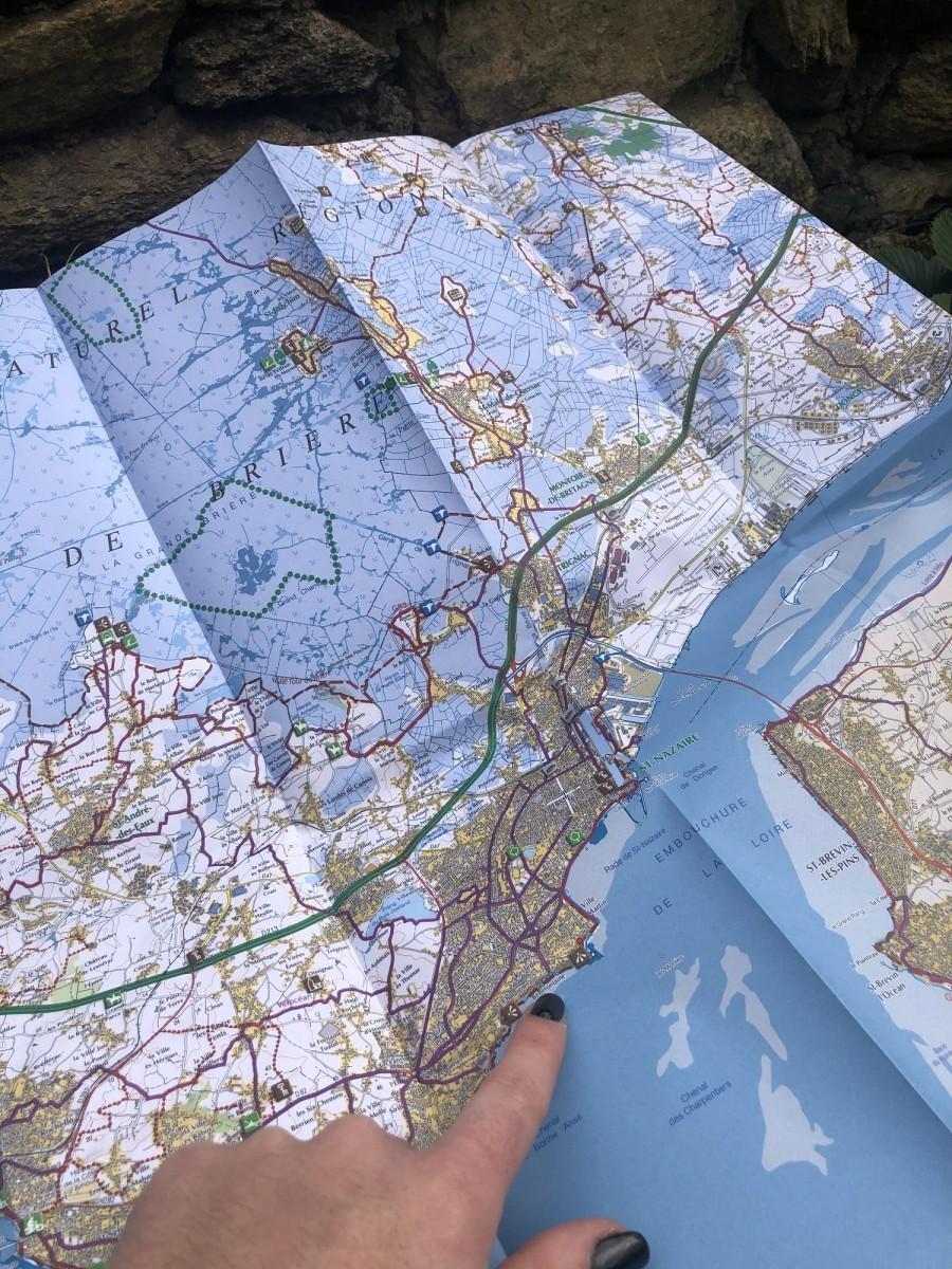 Boutique en ligne - Carte IGN Parc Naturel Régional de Brière - Office de tourisme La Baule Presqu'île de Guérande