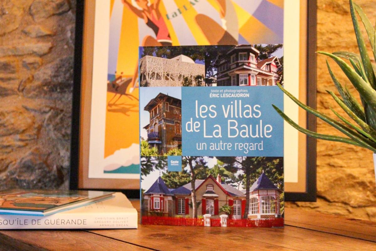 Boutique en ligne - Livre Les villas de La Baule un autre regard - Office de tourisme La Baule Presqu'île de Guérande