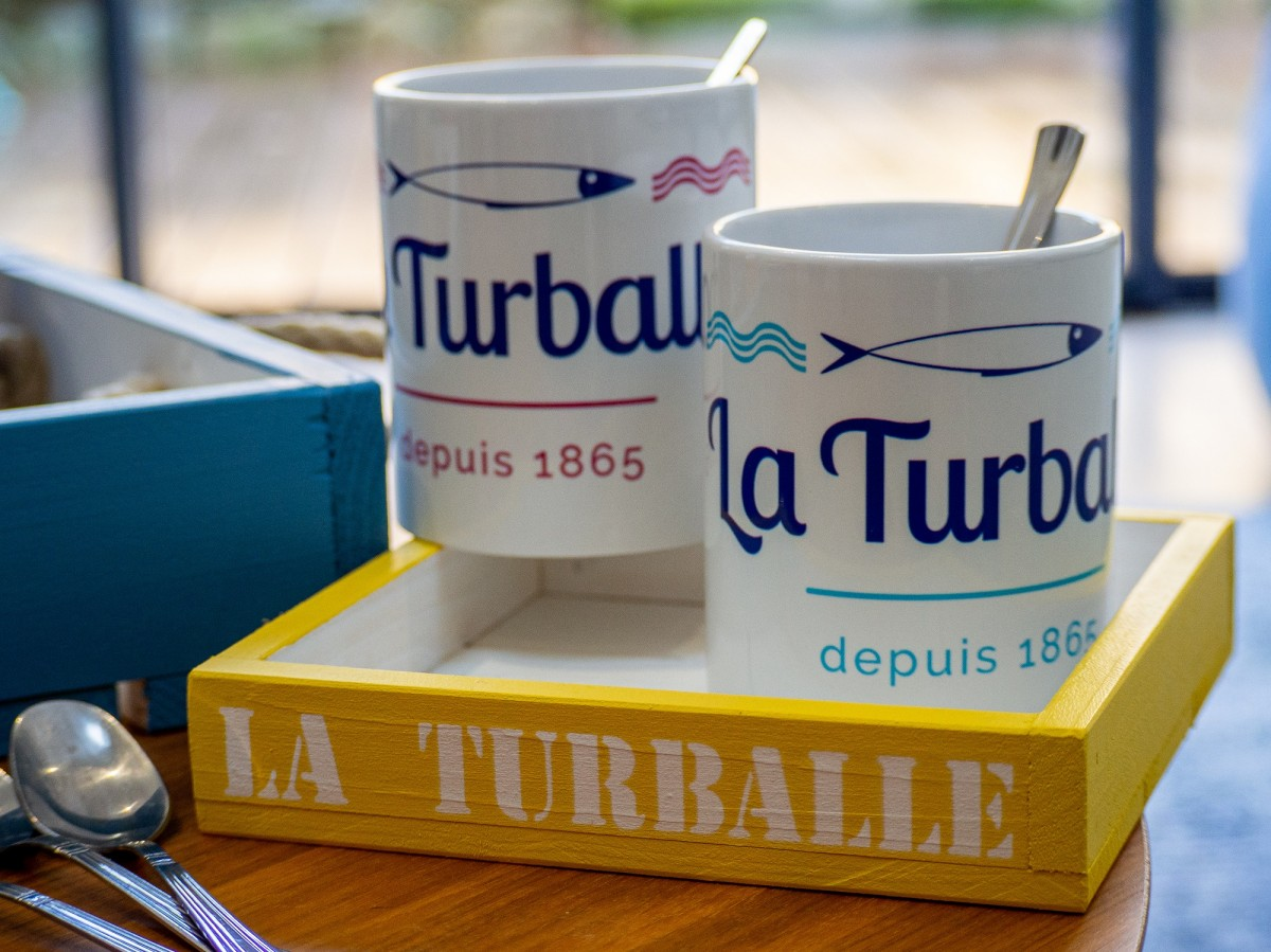 Boutique en ligne - Mug La Turballe 1865 - Office de tourisme La Baule Presqu'île de Guérande
