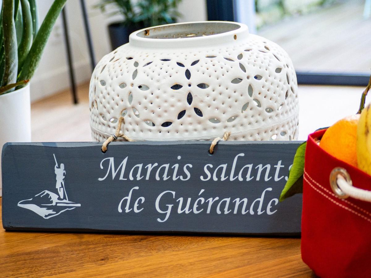 Boutique en ligne - Pancarte Marais Salants de Guérande - Gris foncé - Office de tourisme La Baule Presqu'île de Guérande