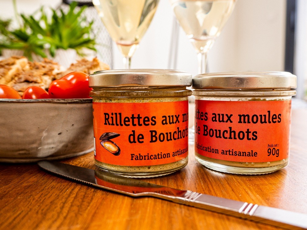Boutique en ligne - Rillettes aux moules de bouchots de Penestin - Office de tourisme La Baule Presqu'île de Guérande