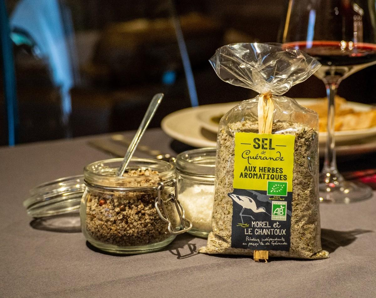 Boutique en ligne - Sel de Guérande aux herbes aromatiques - Atelier du Sel - Office de tourisme La Baule Presqu'île de Guérande