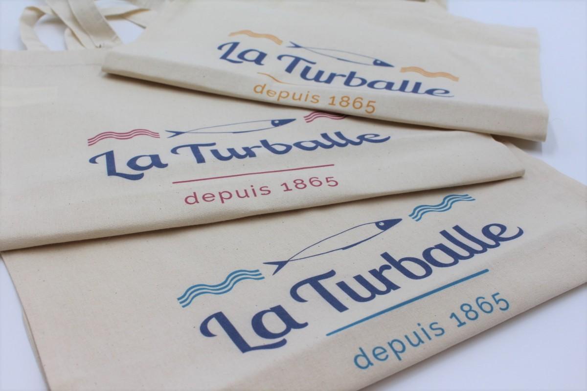 Boutique en ligne -  Tote bag Sardine La Turballe 1865 - Office de tourisme La Baule Presqu'île de Guérande