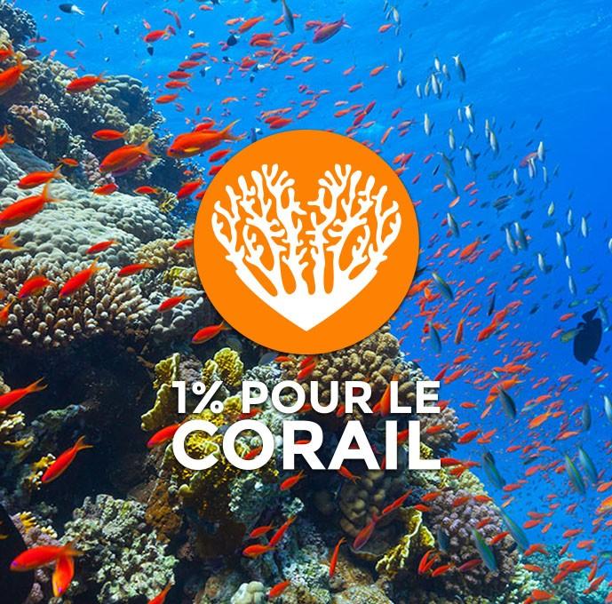 1% pour le corail