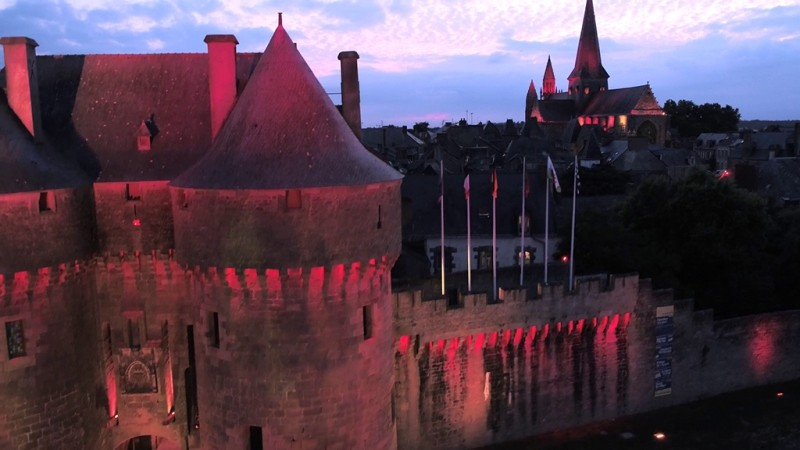 Guérande by light - Mairie de Guérande