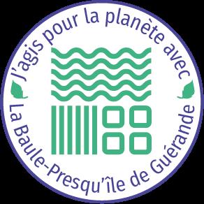 Logo J'agis pour la planète - OTI La Baule Presqu'île de Guérande