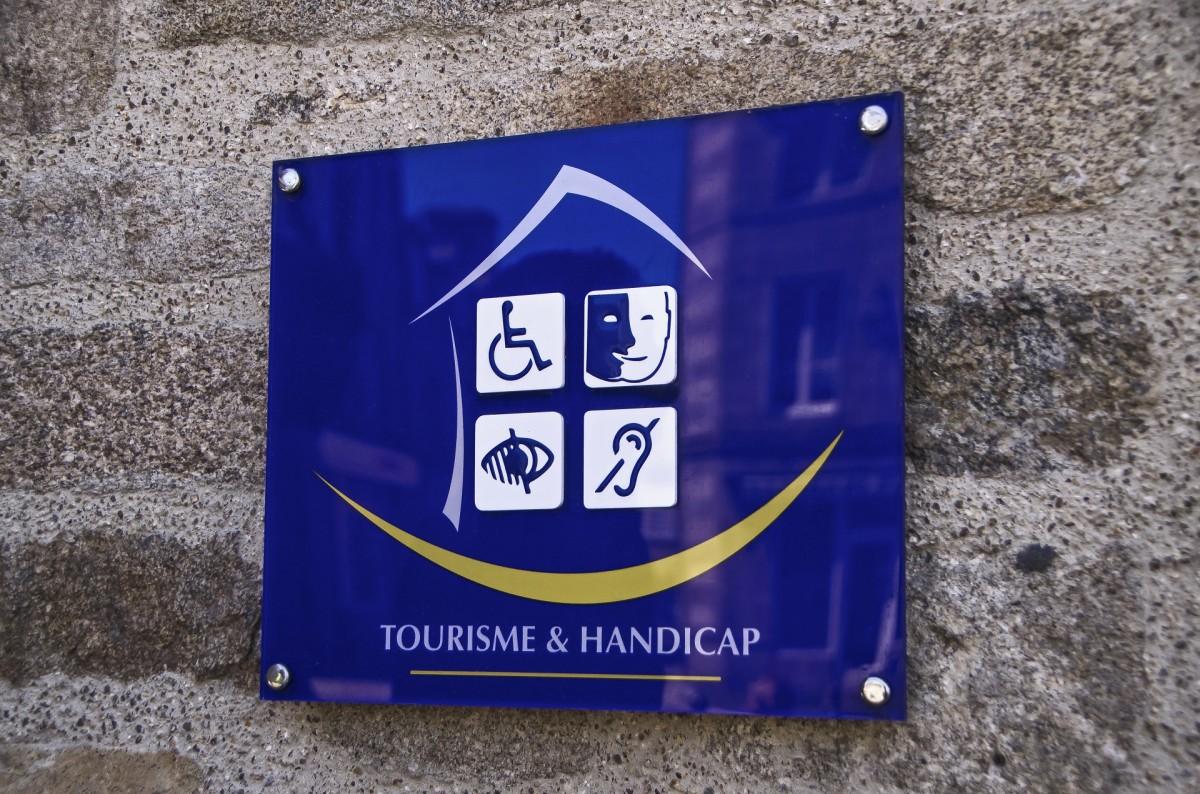 Marque Tourisme et Handicap - Guillaudeau Donatienne / CRT BRETAGNE