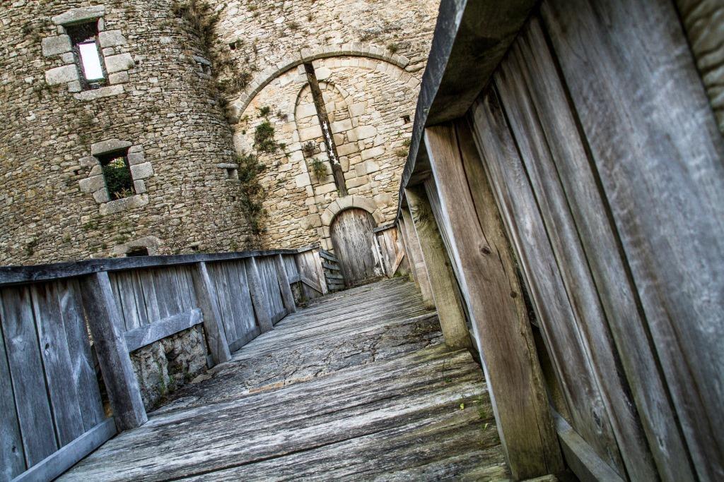 Pont levis - Château de Ranrouët d'Herbignac - Lucas Perrigot