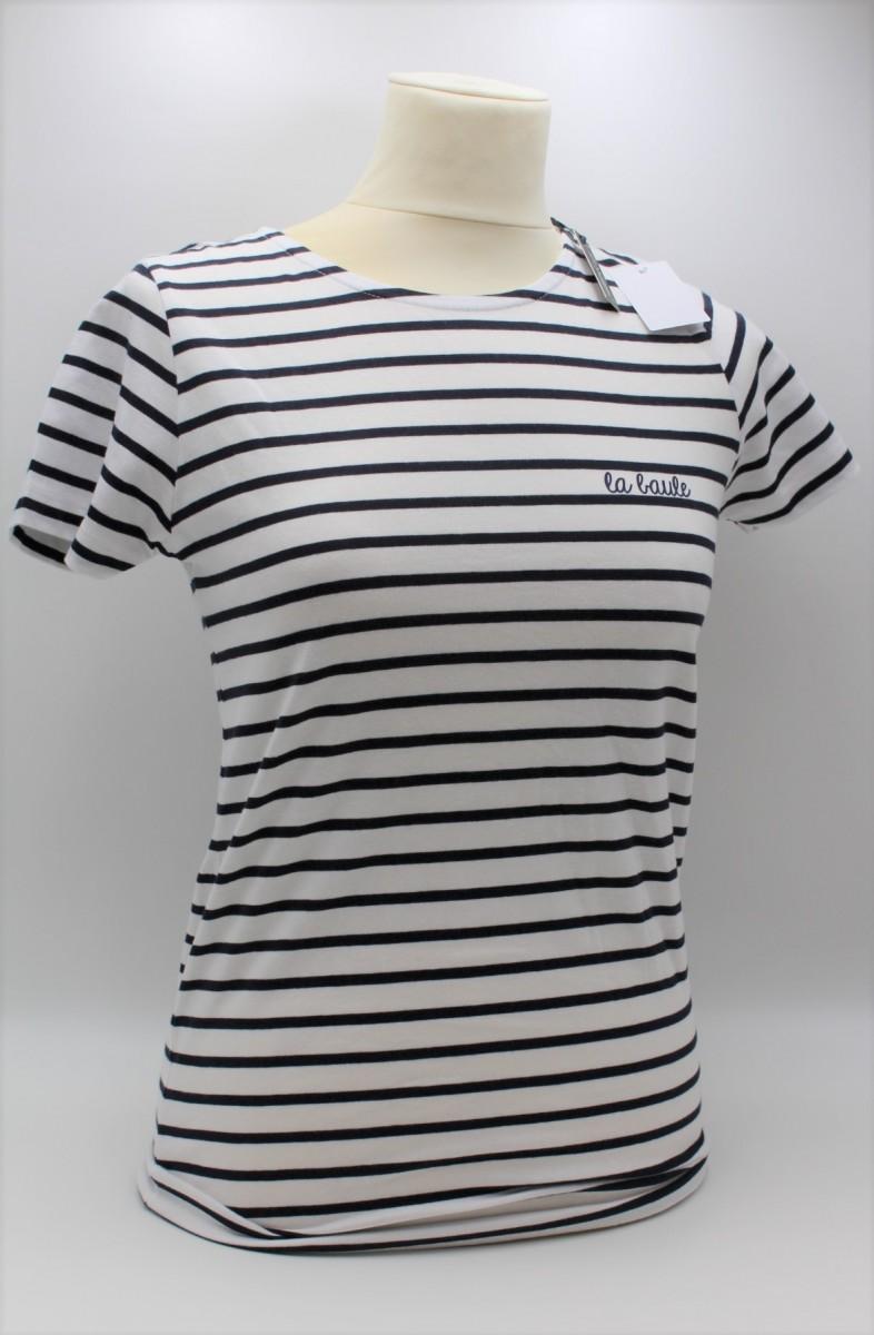 T-shirt Femme Raye la baule