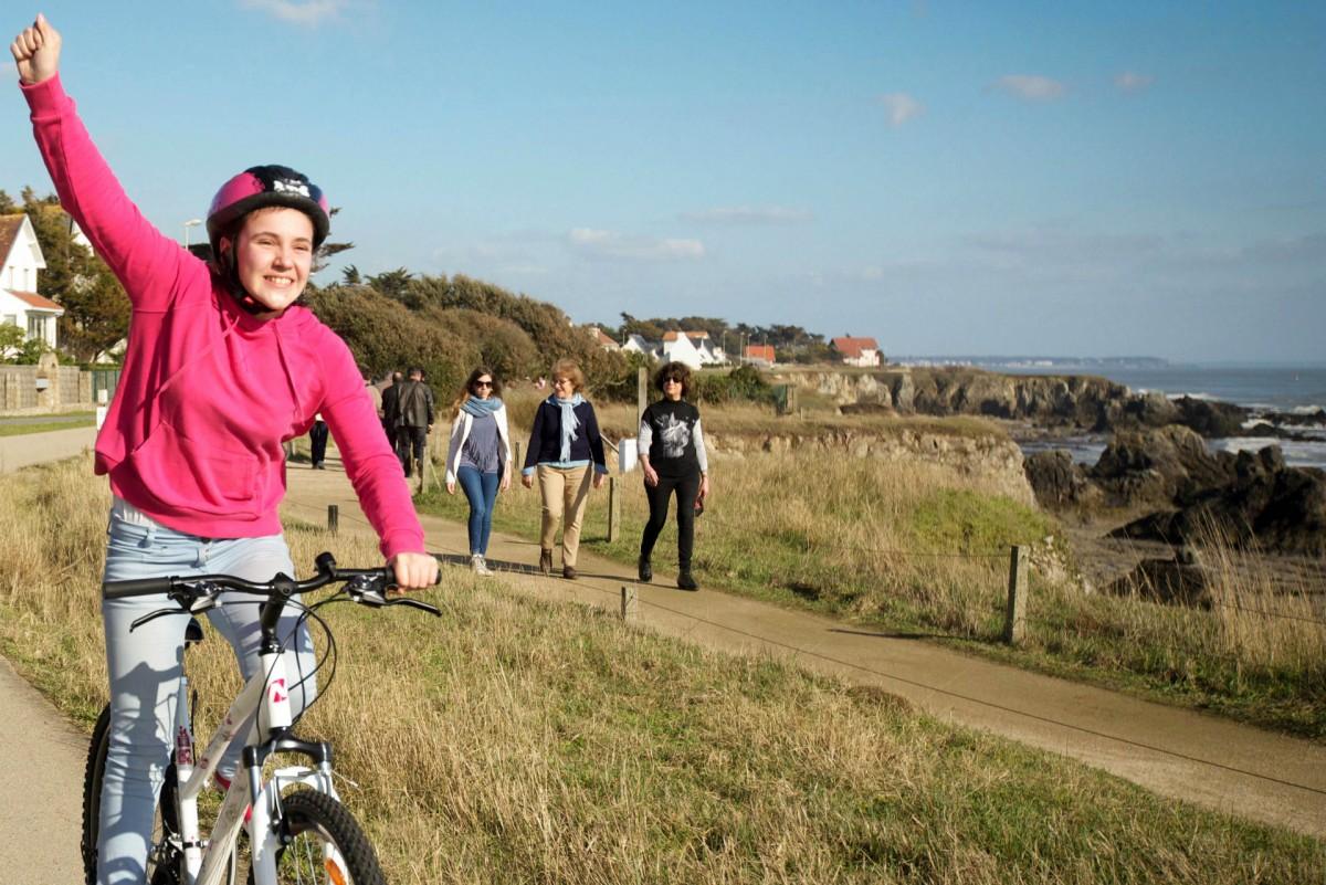 Vélo sur la côte sauvage