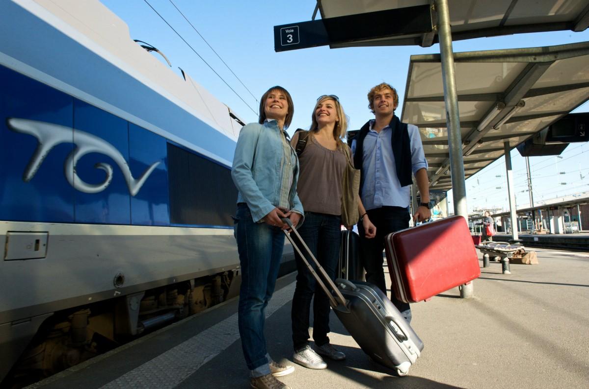Venir par le train à La Baule