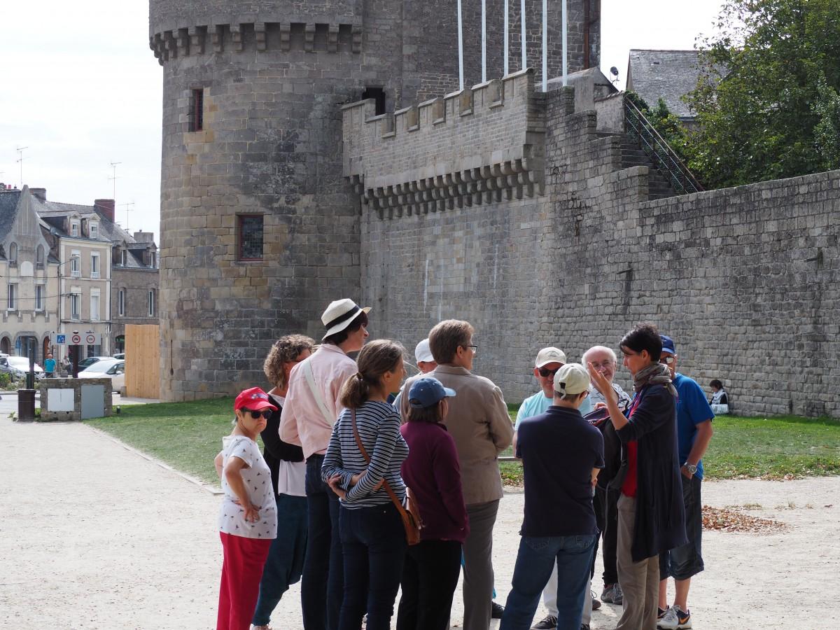 Visite guidée adaptée - Guérande