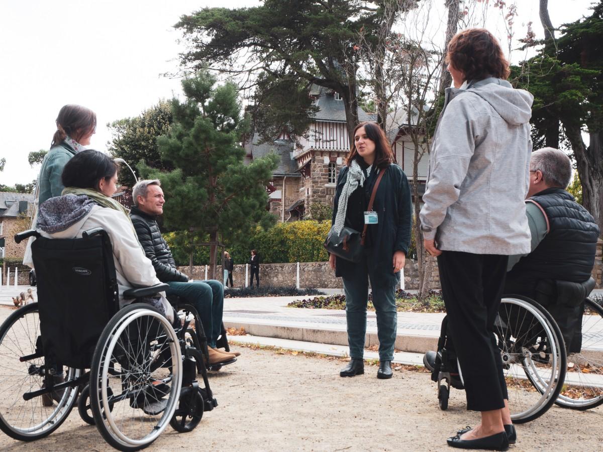 Visite guidée accessible de La Baule