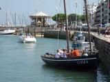 Balade nautique à bord du vieux gréement