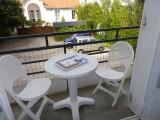 Balcon - Appartement 3 personnes - Résidence Les Tilleuls - le Pouliguen