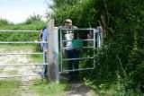 Barrières à bétail en Brière