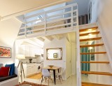 Batz sur Mer - Appartement la Cathédrale de sel - Escalier pour accès chambre