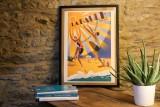 Boutique en ligne - Affiche ancienne - La Baule Plage du soleil - Office de tourisme La Baule Presqu'île de Guérande