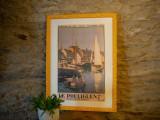 Boutique en ligne -Affiche ancienne - Le Pouliguen le port - Office de tourisme La Baule Presqu'île de Guérande