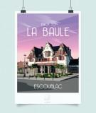 Boutique en ligne - Affiche La Loutre - La Baule  - Office de Tourisme La Baule Presqu'île de Guérande