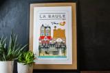 Boutique en ligne - Affiche Quatre Vingt Trois - La Baule - Office de tourisme La Baule Presqu'île de Guérande