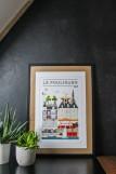 Boutique en ligne - Affiche Quatre Vingt Trois - Le Pouliguen - Office de tourisme La Baule Presqu'île de Guérande