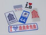 Boutique en ligne - Autocollant I LOVE LB - Office de tourisme La Baule Presqu'île de Guérande