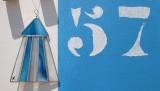 Boutique en ligne - Cabine en vitrail bleu - Office de tourisme La Baule Presqu'île de Guérande