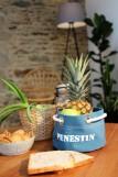 Boutique en ligne - corbeille Pénestin bleu canard - Office de Tourisme La Baule Presqu'île de Guérande