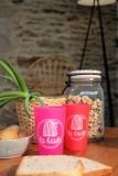 boutique en ligne-Gobelet la baule cabine rose et rouge - Office de tourisme La Baule presqu'ile de Guerande
