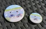 Boutique en ligne - Magnet et badge Mesquer-Quimiac - Office de tourisme La Baule Presqu'île de Guérande