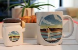 Boutique en ligne - mug et petit pot marais salants de Guérande - Office de Tourisme La baule Presqu'île de Guérande