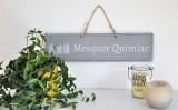 Boutique en ligne - Pancarte en bois cabines Mesquer-Quimiac  gris clair - Office de Tourisme La Baule presqu'île de Guérande