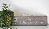 Boutique en ligne - Pancarte en bois vacances à Mesquer-Quimiac taupe - Office de Tourisme La Baule presqu'île de Guérande