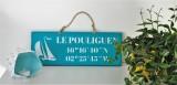 Boutique en ligne - pancarte Le Pouliguen Latitude turquoise - Office de Tourisme La Baule Presqu'île de Guérande