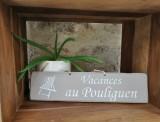 Boutique en ligne - pancarte vacances Le Pouliguen taupe - Office de Tourisme La Baule Presqu'île de Guérande