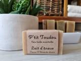 Boutique en ligne -  savon au lait d'ânesse - Cacao & amande douce - La p'tite ferme de Mélie à Batz-sur-mer - Office de tourisme La Baule-Presqu'île